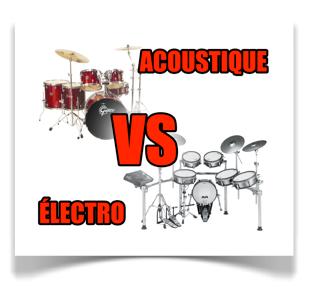 acoustique vs électronique