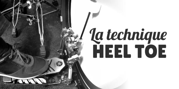 Jouez des coups doubles à la grosse caisse grâce à la technique Heel Toe